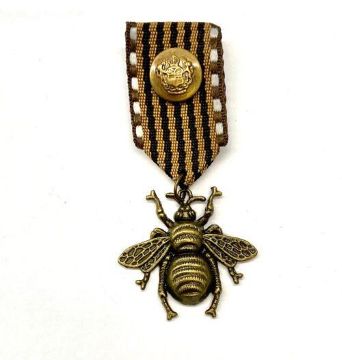 Steampunk medaille Elly Beinhorn