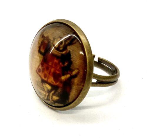 Steampunk ring 46