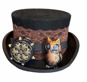 Steampunk hoed Archimedes
