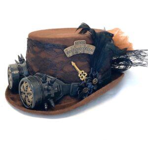Steampunk hoed Neviana