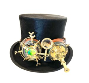 Steampunk hoed Titus