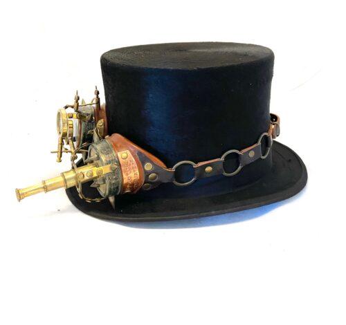 Steampunk hoed Titus