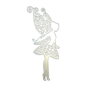 Steampunk stencil fairy