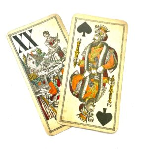 Steampunk speelkaarten set Madeline