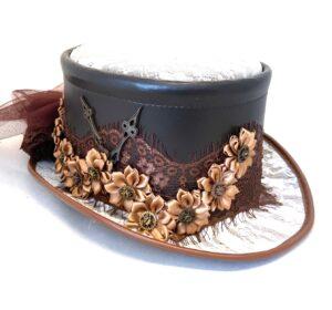Steampunk hoed Levke