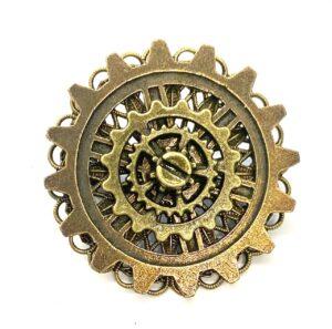 Steampunk broche 24