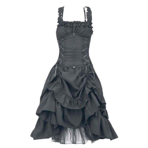 Steampunk dames jurk Nocta