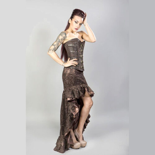 Steampunk dames rok Rose