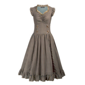 Steampunk dames jurk Nelleke