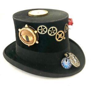 Steampunk hoed Aurelius